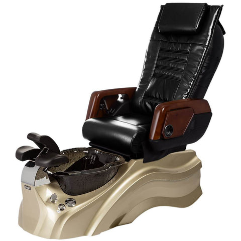 Image of Osaki Pedicure Chairs Black / Primo with Vent Gold / Black / With Jet Free OS-OP-05 with Primo Base Set
