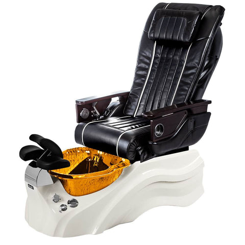 Image of Osaki Pedicure Chairs Black / Primo with Vent White / Amber / With Jet Free OS-OP-04 with Base Set