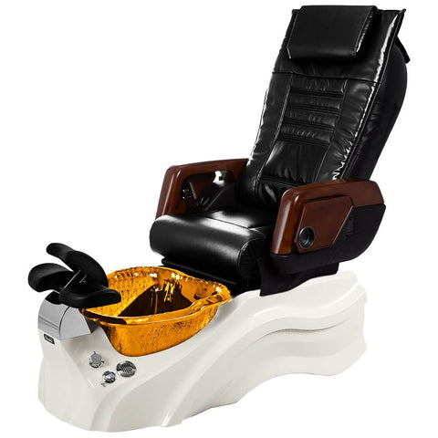 Image of Osaki Pedicure Chairs Black / Primo with Vent White / Amber / With Jet Free OS-OP-05 with Primo Base Set