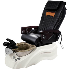 Osaki Pedicure Chairs Black / Primo with Vent White / Silver / With Jet Free OS-OP-06 with Base Set