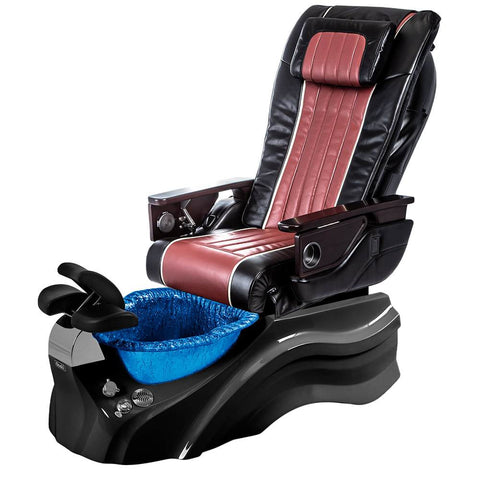 Image of Osaki Pedicure Chairs Black / Red / Primo with Vent Black / Blue / With Jet Free OS-OP-04 with Base Set