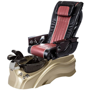 Osaki Pedicure Chairs Black / Red / Primo with Vent Gold / Black / With Jet Free OS-OP-04 with Base Set