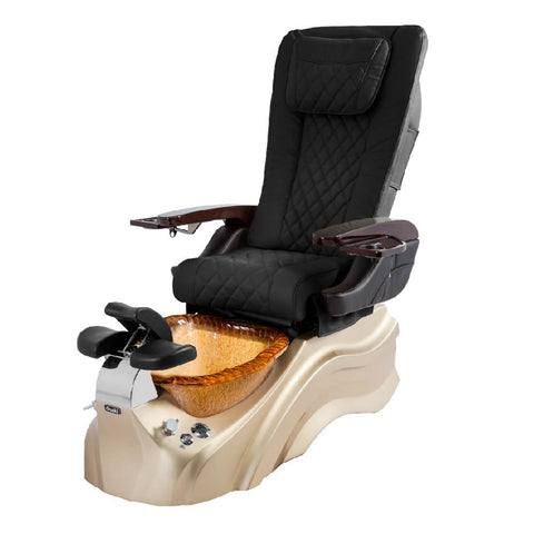 Image of Osaki Pedicure Chairs Black / Rosegold / Golden / With Jet Free OS-Primo With Base