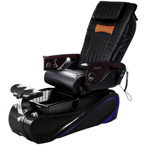 Osaki Pedicure Chairs Black / Tom Spa Black / With Jet Free OS-OP-06 with Base Set
