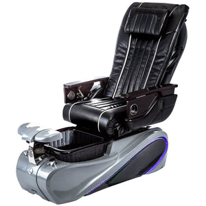Osaki Pedicure Chairs Black / Tom Spa Grey / With Jet Free OS-OP-04 with Base Set