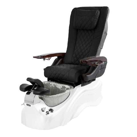 Osaki Pedicure Chairs Black / White / Silver / With Jet Free OS-Primo With Base