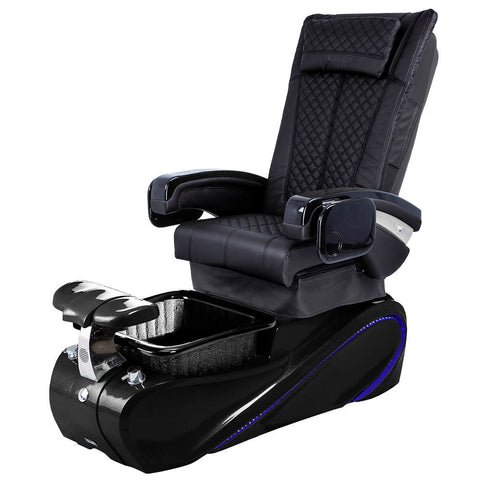 Image of Osaki Pedicure Chairs Black / Without Jet / Tom Spa Black Lulu with Tom Spa Base