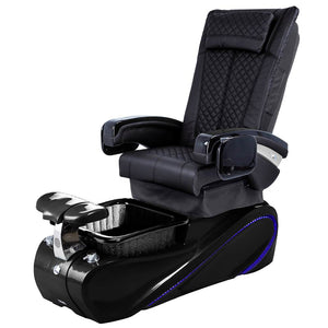 Osaki Pedicure Chairs Black / Without Jet / Tom Spa Black Lulu with Tom Spa Base