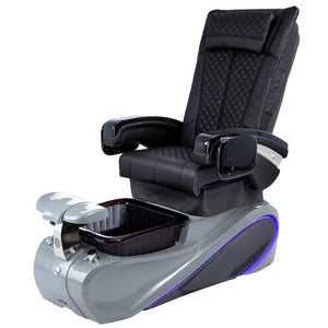 Osaki Pedicure Chairs Black / Without Jet / Tom Spa Grey Lulu with Tom Spa Base