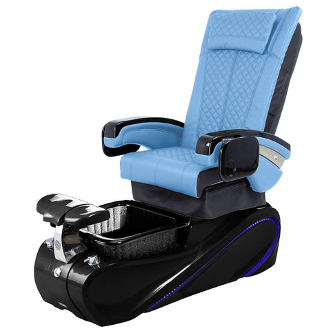 Image of Osaki Pedicure Chairs Blue / Without Jet / Tom Spa Black Lulu with Tom Spa Base