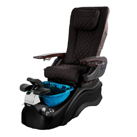 Osaki Pedicure Chairs Brown / Black / Dark Blue / With Jet Free OS-Primo With Base