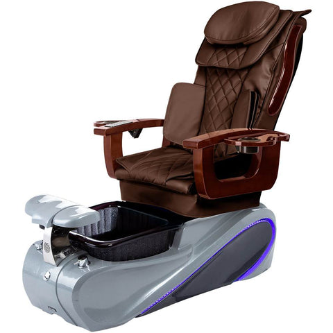Osaki Pedicure Chairs Brown / Grey / Without Jet FREE Elina with Tom Spa Base
