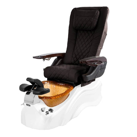 Image of Osaki Pedicure Chairs Brown / White / Amber Clear / With Jet Free OS-Primo With Base
