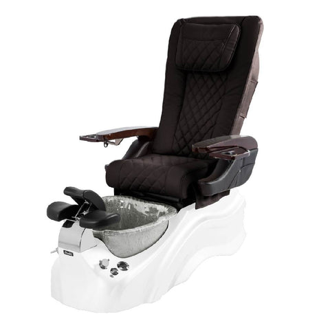 Image of Osaki Pedicure Chairs Brown / White / Silver / With Jet Free OS-Primo With Base
