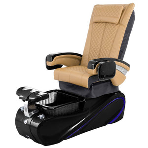 Osaki Pedicure Chairs Brown / Without Jet / Tom Spa Black Lulu with Tom Spa Base