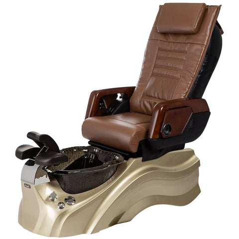 Image of Osaki Pedicure Chairs Capucchino / Primo with Vent Gold / Black / With Jet Free OS-OP-05 with Primo Base Set