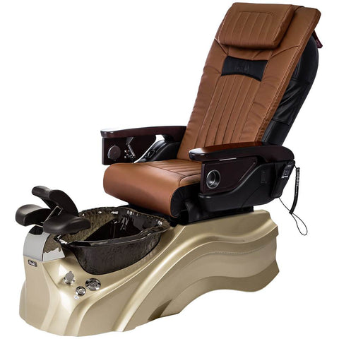 Image of Osaki Pedicure Chairs Capucchino / Primo with Vent Gold / Black / With Jet Free OS-OP-06 with Base Set