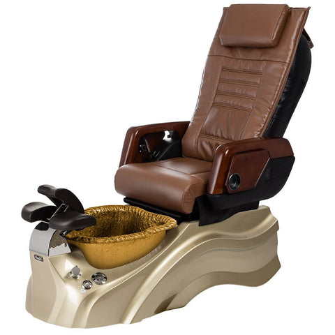 Image of Osaki Pedicure Chairs Capucchino / Primo with Vent Gold / Gold / With Jet Free OS-OP-05 with Primo Base Set