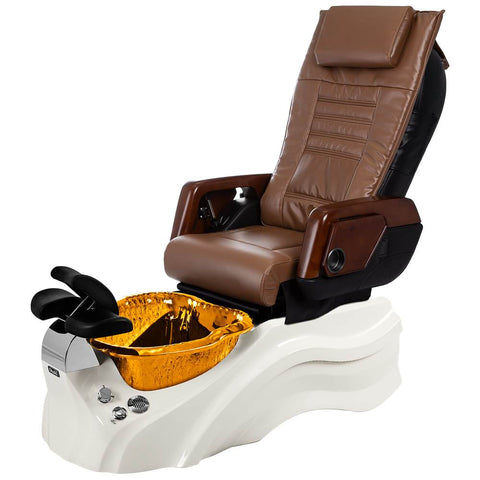 Image of Osaki Pedicure Chairs Capucchino / Primo with Vent White / Amber / With Jet Free OS-OP-05 with Primo Base Set