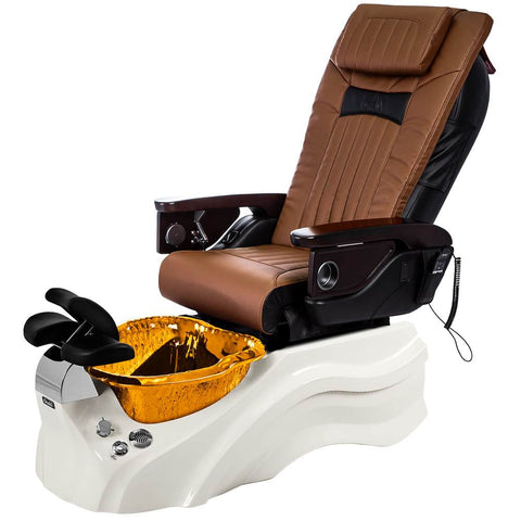 Osaki Pedicure Chairs Capucchino / Primo with Vent White / Amber / With Jet Free OS-OP-06 with Base Set