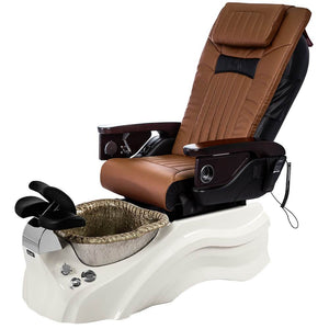 Osaki Pedicure Chairs Capucchino / Primo with Vent White / Silver / With Jet Free OS-OP-06 with Base Set