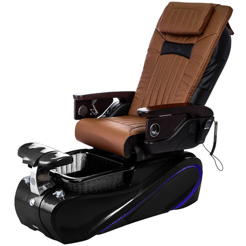 Image of Osaki Pedicure Chairs Capucchino / Tom Spa Black / With Jet Free OS-OP-06 with Base Set