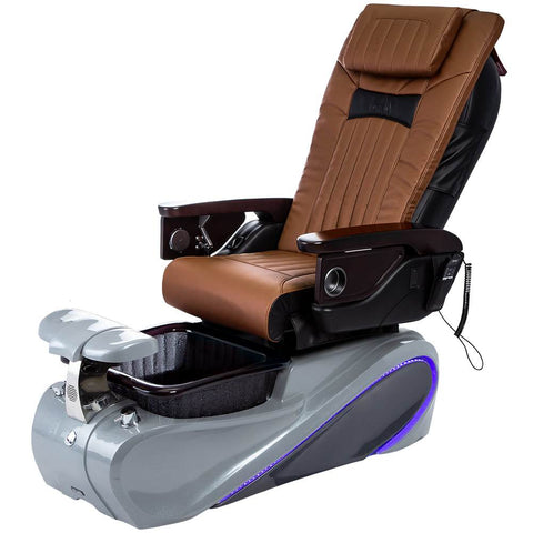 Image of Osaki Pedicure Chairs Capucchino / Tom Spa Grey / With Jet Free OS-OP-06 with Base Set
