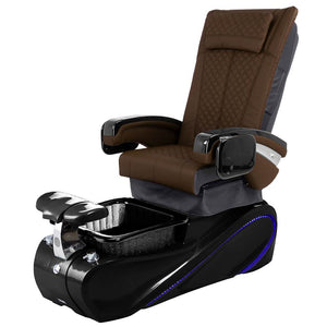 Osaki Pedicure Chairs Capuccino / Without Jet / Tom Spa Black Lulu with Tom Spa Base