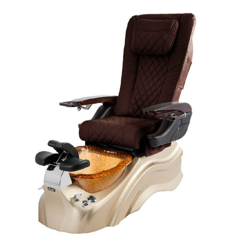 Image of Osaki Pedicure Chairs Capuchinno / Rosegold / Golden / With Jet Free OS-Primo With Base
