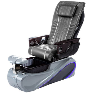 Osaki Pedicure Chairs Pewter / Tom Spa Grey / With Jet Free OS-OP-04 with Base Set