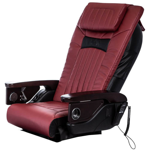 Image of Osaki Pedicure Chairs Red OS-OP-06 Vertical Chair