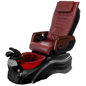 Osaki Pedicure Chairs Red / Primo with Vent Blavk / Red / With Jet Free OS-OP-05 with Primo Base Set
