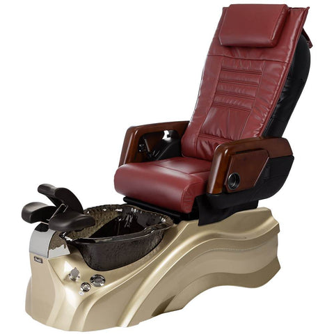 Image of Osaki Pedicure Chairs Red / Primo with Vent Gold / Black / With Jet Free OS-OP-05 with Primo Base Set