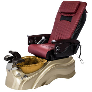 Osaki Pedicure Chairs Red / Primo with Vent Gold / Gold / With Jet Free OS-OP-06 with Base Set