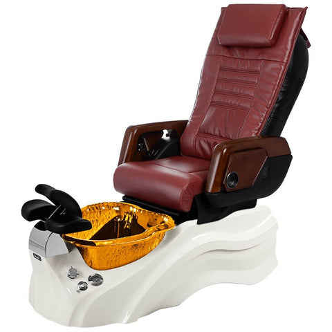 Image of Osaki Pedicure Chairs Red / Primo with Vent White / Amber / With Jet Free OS-OP-05 with Primo Base Set