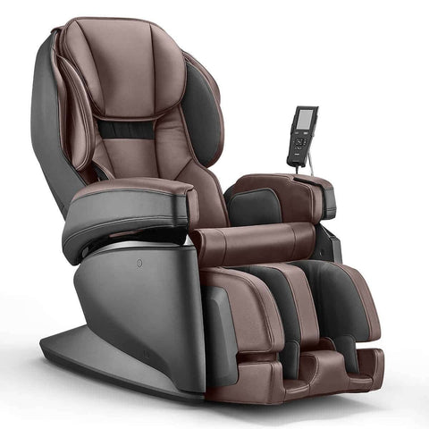 Image of SYNCA Massage Chair Espresso / FREE - Curbside Delivery Synca JP110 4D Massage Chair