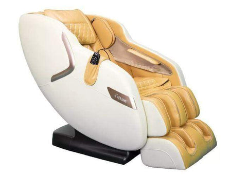 Titan Massage Chair Beige / Curbside Delivery-Free / 1 Year(Parts/Labor)2&3 Year(Part Only)-Free Titan Luca V Massage Chair