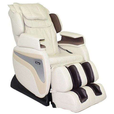 Image of Titan Massage Chair Cream / White Glove Delivery ($149) / 1 Additional Year Parts and Labor Extended Warranty +$149.00 Titan TI-8700 Massage Chair