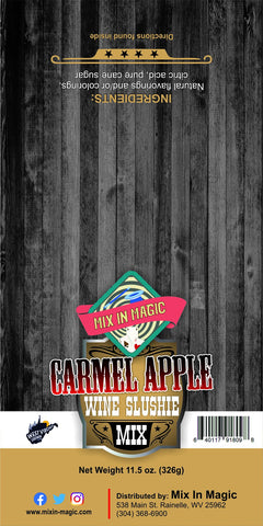 Carmel Apple Wine Slushie Mix