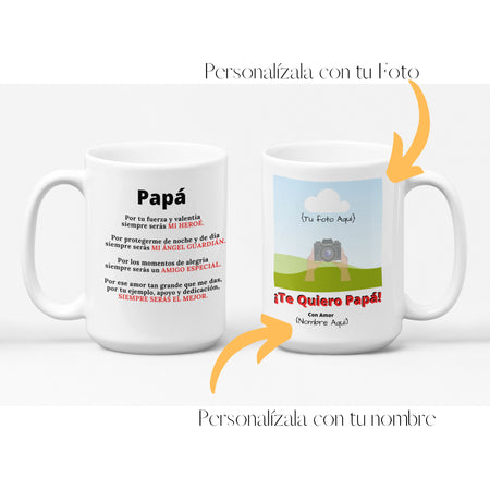 Regalo Ideal Para Papá ( personalizada ) Regalos.Gifts