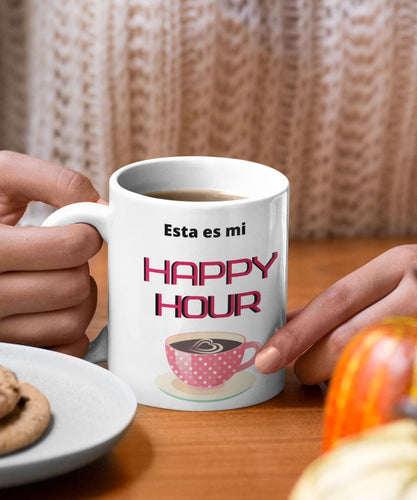 Taza de Café: Esta es mi Happy Hour Coffee Mug Regalos.Gifts