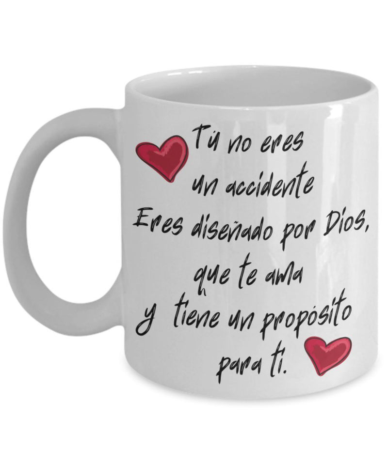 Taza de Café: Tú no eres un accidente Coffee Mug Regalos.Gifts