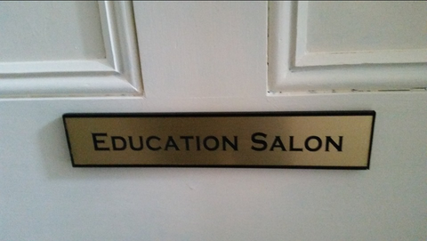 Education Salon door