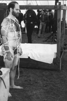 david stein as bondage demo model