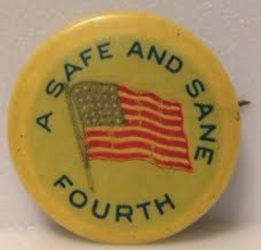 A Safe and Sane Fourth pin