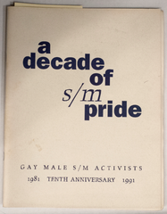 A decade of SM pride