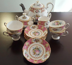 Royal Albert tea set on ebay