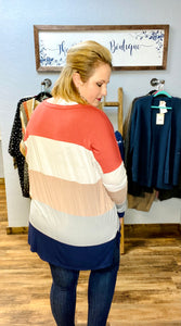 Dana Color Block Top