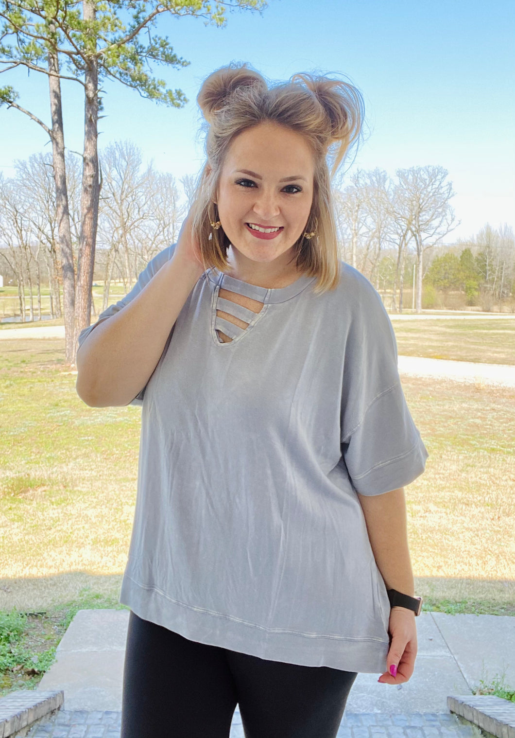 Beth Anne Relaxed Fit Top (Multiple Colors)