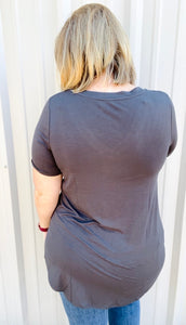 The Luxe Rayon Top (Multiple Colors)